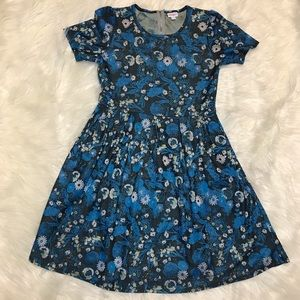 Lularoe Amelia Floral Dress